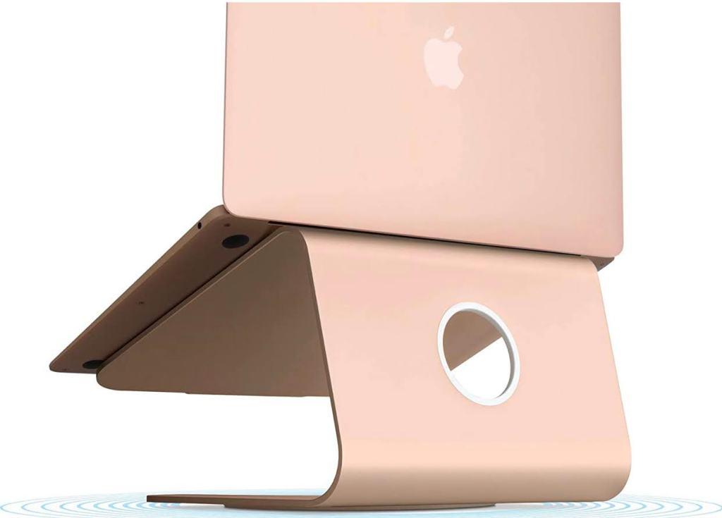 Laptop riser that matches MAC colours!