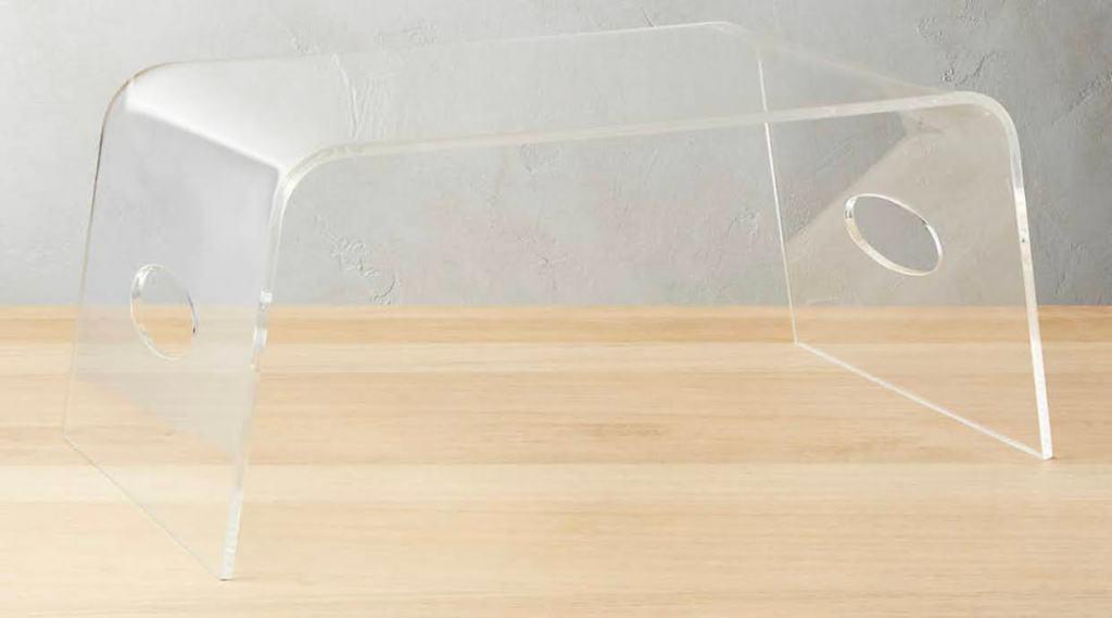 Acrylic WFH (or bed) tray!