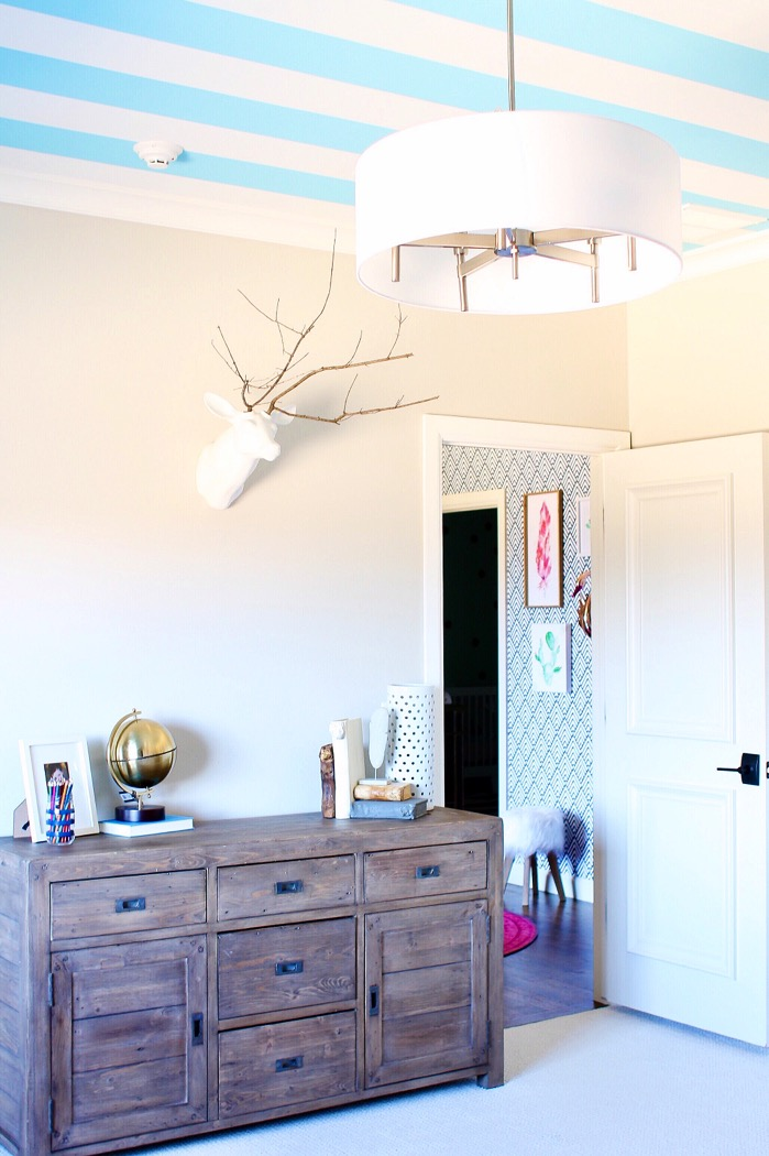 White Console Table Modern
