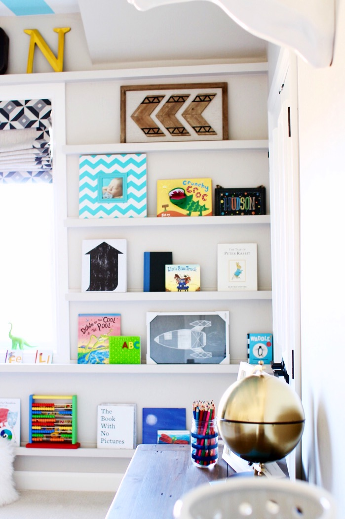 Modern Bedroom Ideas For Boys Bookshelves