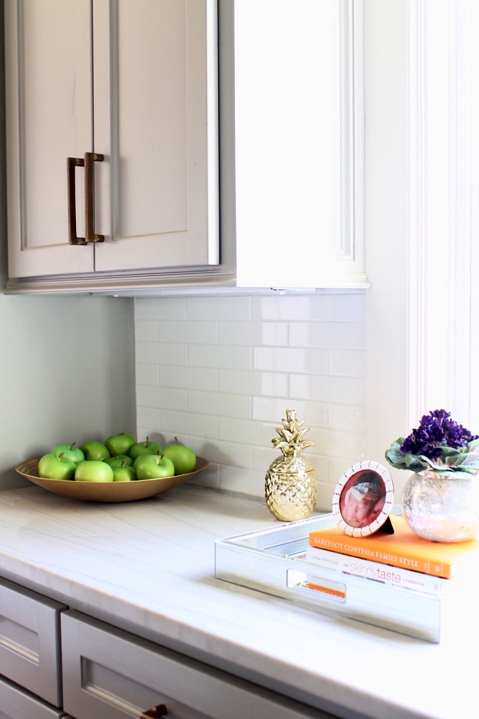 Kitchen Countertops Green Apples Brass Pineapple Decor Marble Countertops   Kitchen  Countertops Ideas: How To