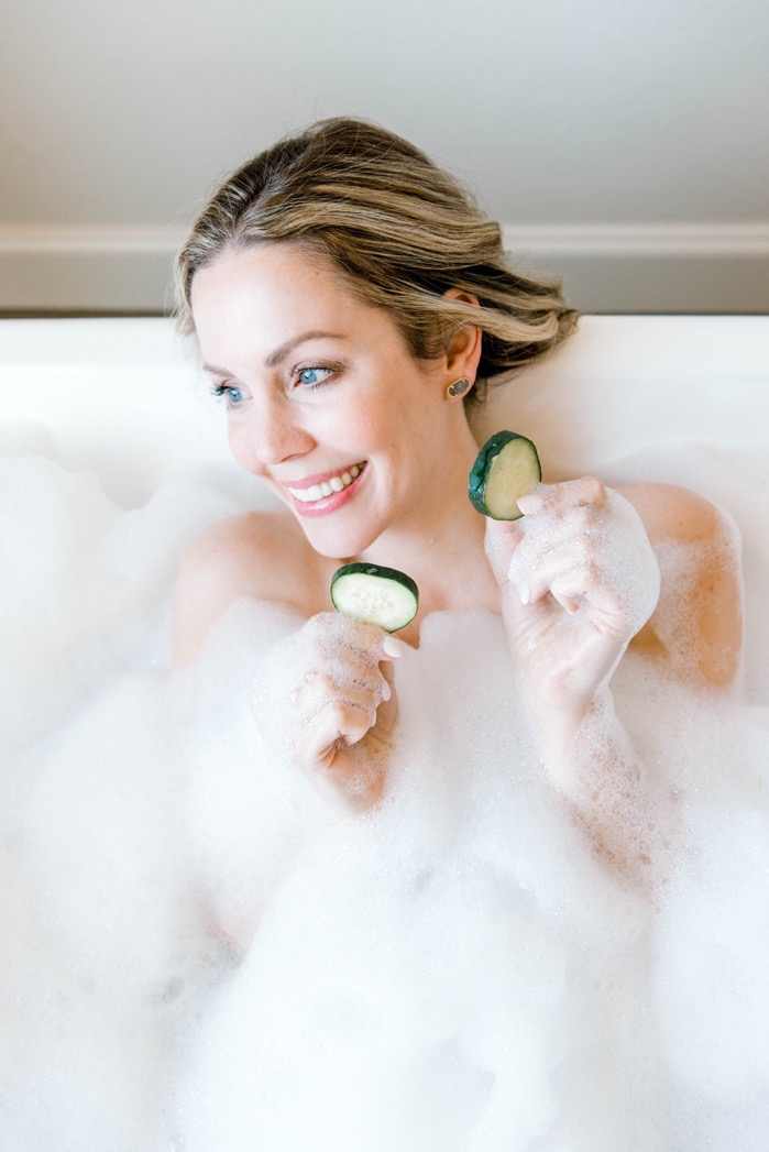 At Home Spa Day Ideas | Beauty | Curls and Cashmere