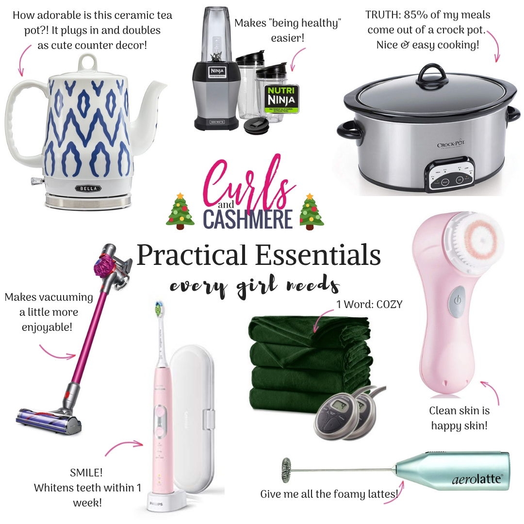 Practical Gift Ideas for Women | Curls and Cashmere