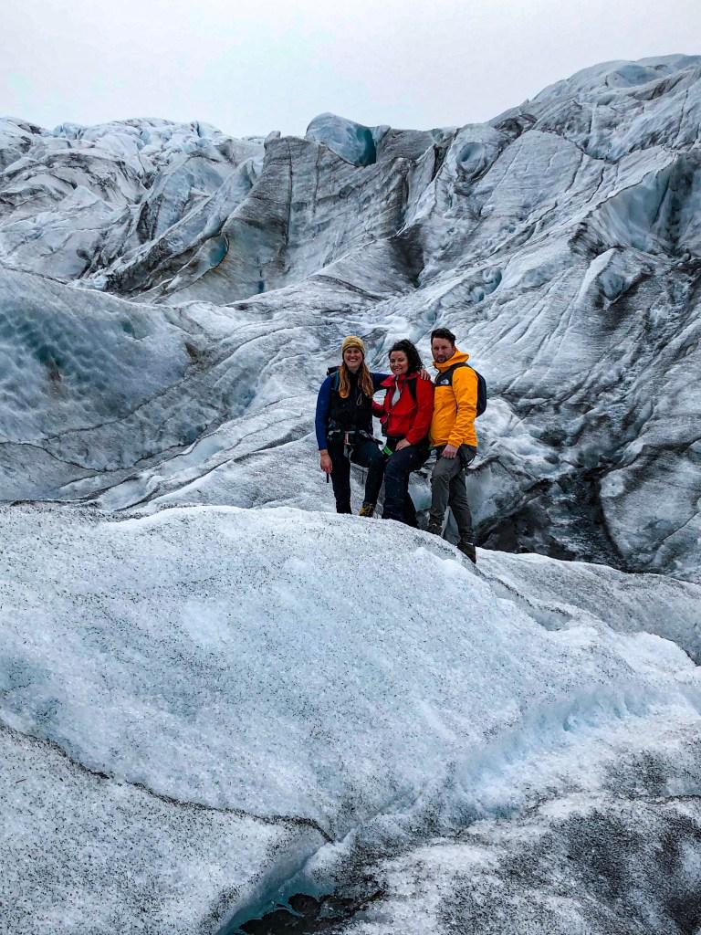 Marcher sur les glaciers islandais