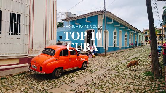 TOP 10 Activités à Cuba 🇨🇺