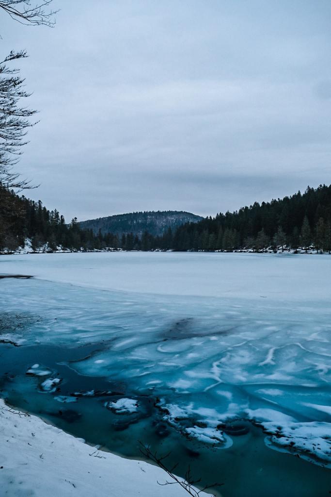 Lac des Corbeaux - Road trip dans les Vosges en hiver - Curlwildfree (8)