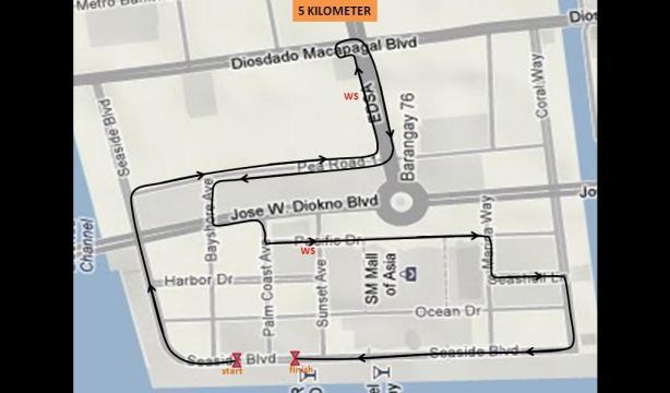 5km map