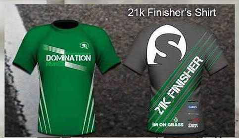 Sante Barley 21k Finisher Shirt
