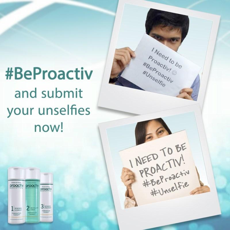 Proactive Unselfie