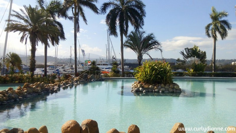 Swimming Pool at Subic Bay Yacht Club