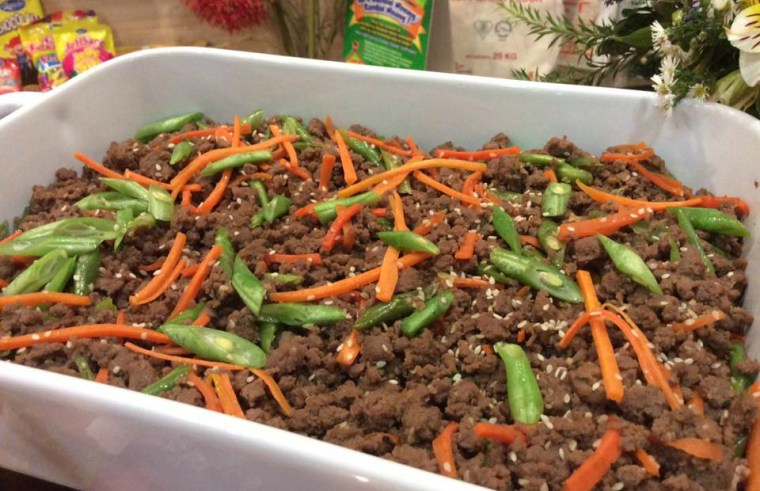 Sesame-Ginger Ground Beef