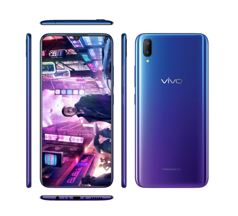 Vivo V11 with movie