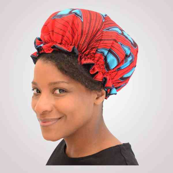 bonnet elastique curly nights flamme wax satin