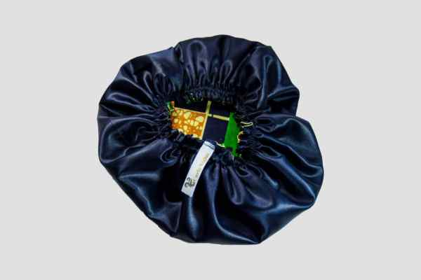 bonnet elastique wax satin savane curly nights