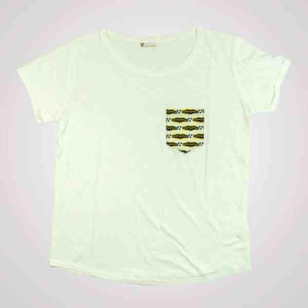 tshirt pyjama wax blanc lemonade