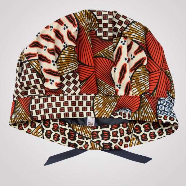bonnet satin wax CITROUILLE