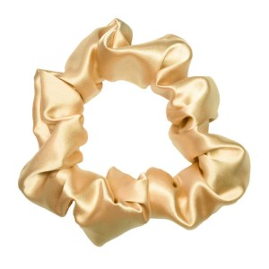 scrunchie xxl satin curly nights champagner