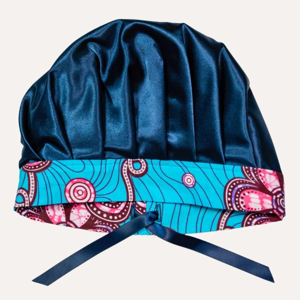 bonnet satin wax enfant réglable curly nights