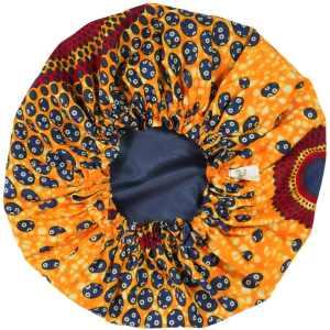 bonnet satin nuit élastique curly nights cheveux bouclés crépus protection CREPUSCULE