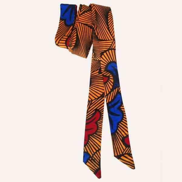 ceinture longue wax HONEYMOON pour kimono, jeans, robe, manteau