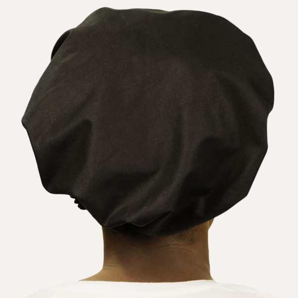 curly nights satin bonnet locken schwarz