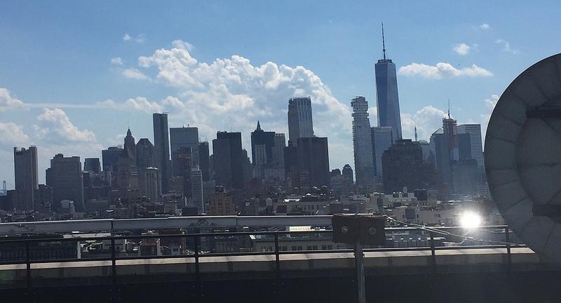 New York Skyline from the New York Office