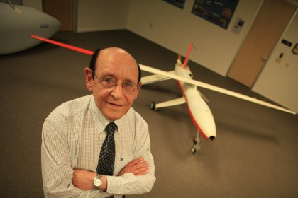 """One of the experts who appeared in Nova's """"Rise of the Drones"""" was Abe Karem, creator of the Predator drone. Critics of the broadcast faulted Nova for not disclosing Karem's business relationsihp with Lockheed Martin, corporate sponsor of the series at the time of the broadcast. (Photo: WGBH)"""