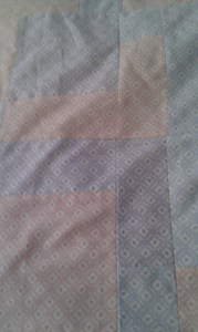 Another close up of the fabric and layout