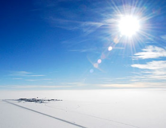 The South Pole is not the coldest place on earth.