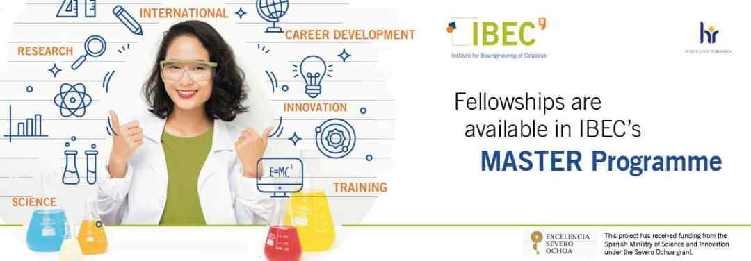 IBEC Masters Fellowships 2021/2022 for International Students
