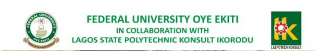 FUOYE - LASPOTECH Top-Up (Degree and HND Conversion) Programme