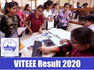 VITEEE 2020 Result, Score Card | Check Result Here