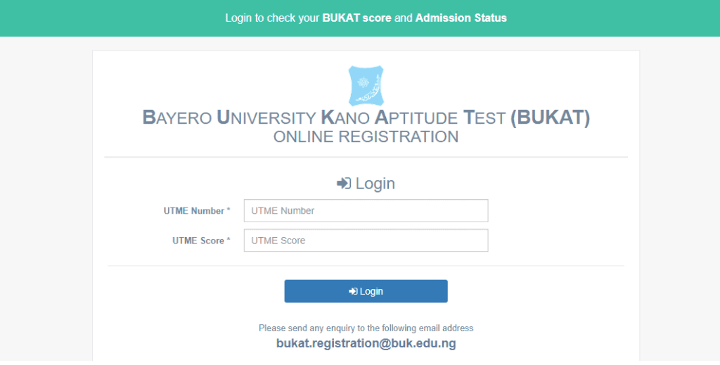 How to Check BUK 2021 Admission List