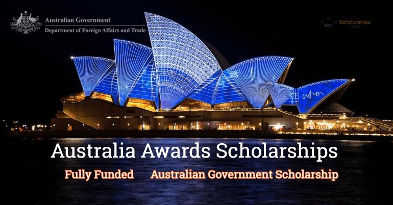 Australia Awards Scholarship 2020/2021 Application Portal Update