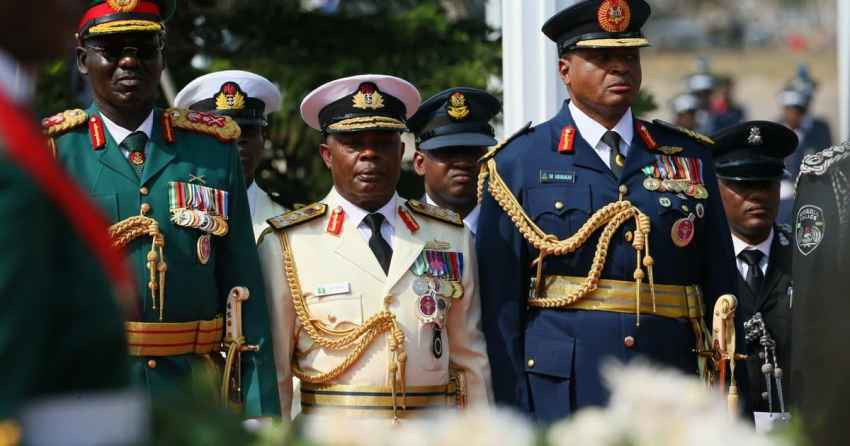 Nigerian Military Rank – Check Out Nigerian Military Rank