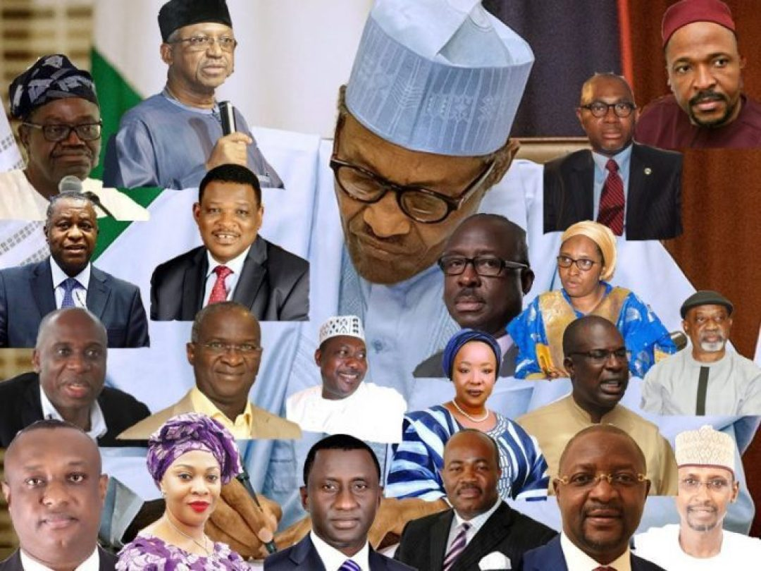 Ministerial List in Nigeria 2021: Ministers' State of Origin and Portfolio