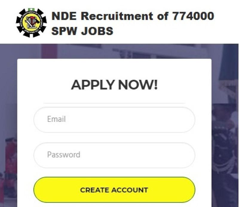 NDE Registration Form