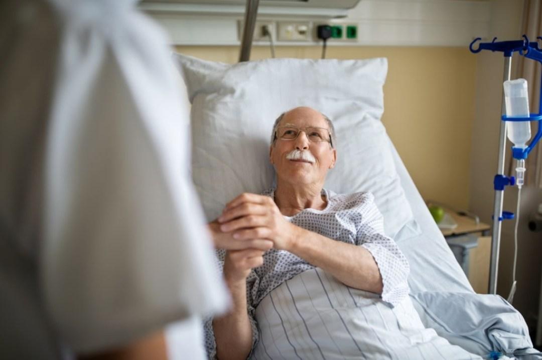 Man Receiving Treatment