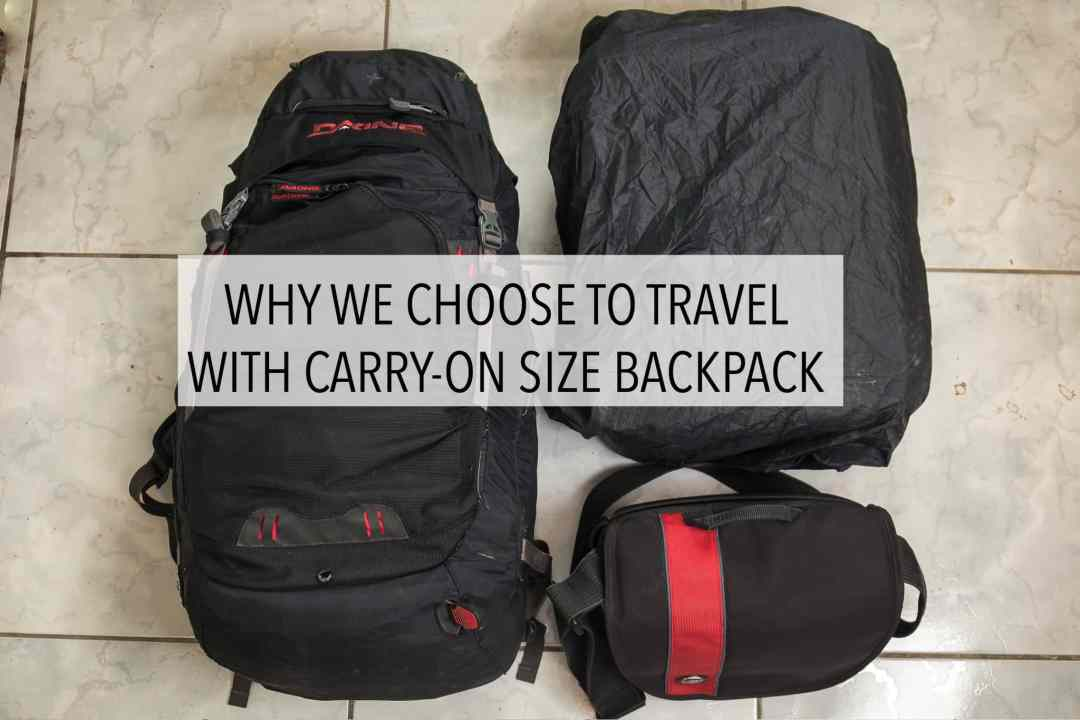 Carry-On-Sized Backpack