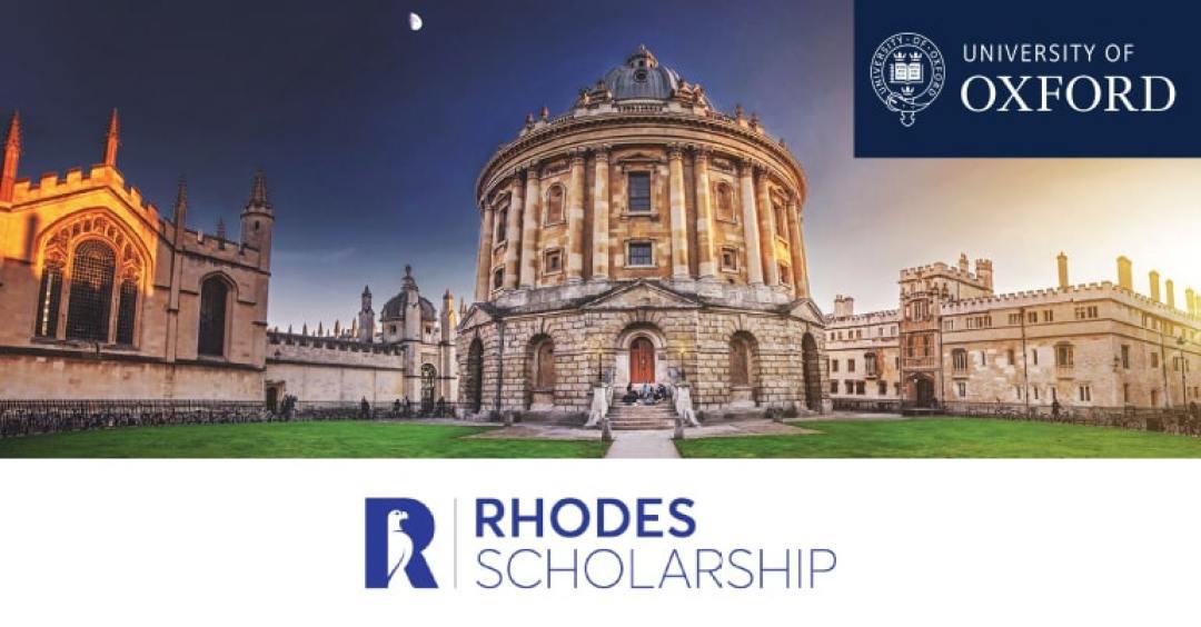 Rhodes Scholarship at Oxford University for International Students