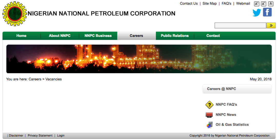 NNPC Recruitment 2021/2022 Check Application Form Portal