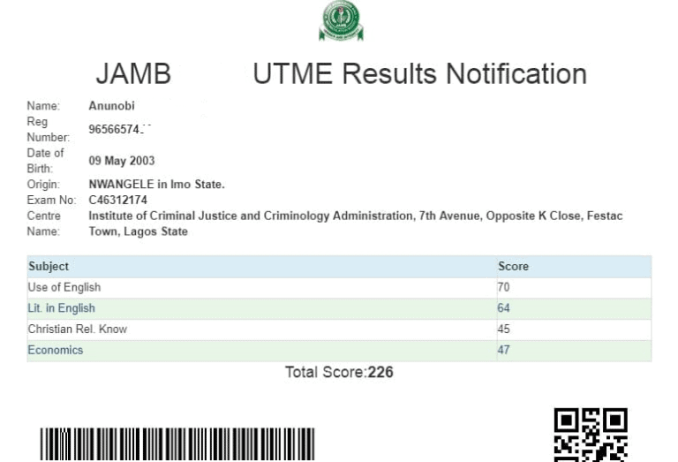 How to Check 2021 JAMB UTME Result
