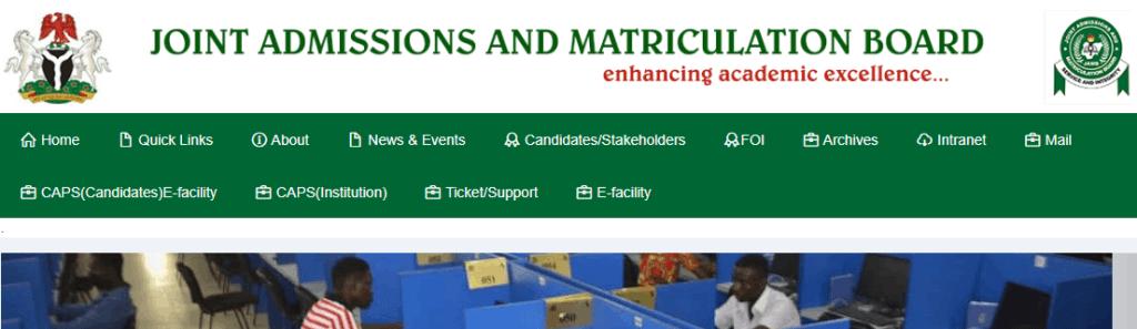 JAMB Matriculation List 2021