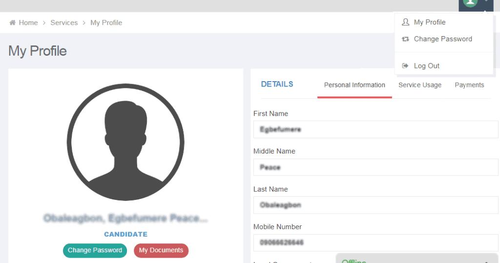JAMB Portal 2021