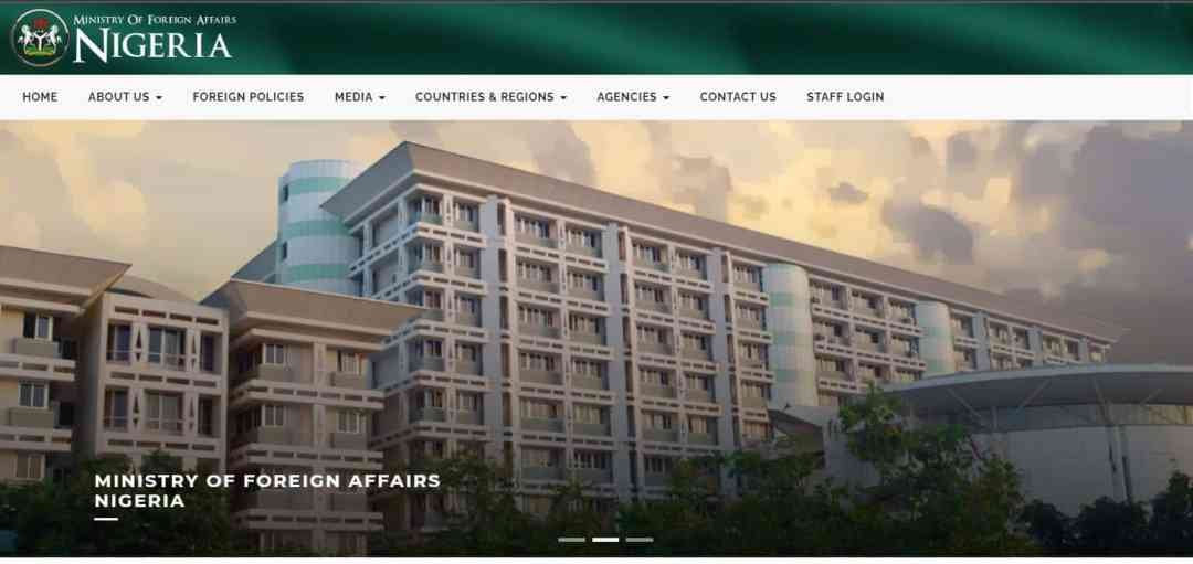 Ministry of Foreign Affairs Recruitment 2021/2022 Application Update Portal