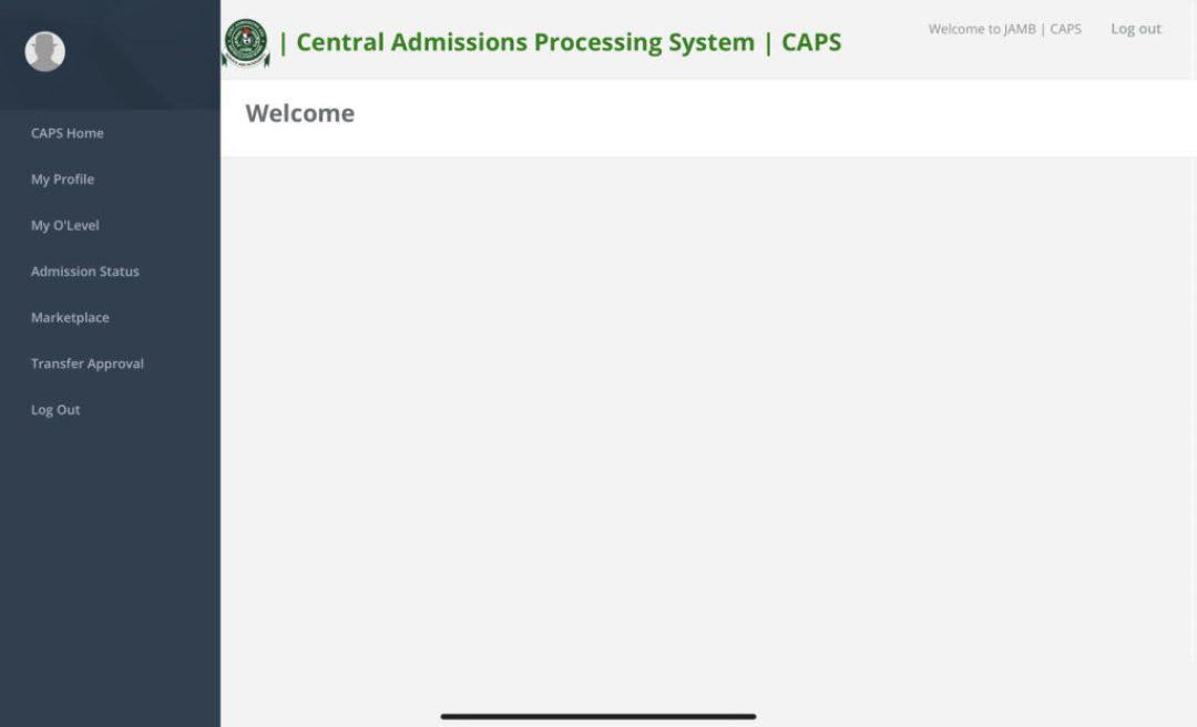 How to Login Jamb Caps portal 2021 via jamb.gov.ng