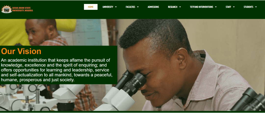 Akwa Ibom State University Recruitment 2021/2022 Application Portal