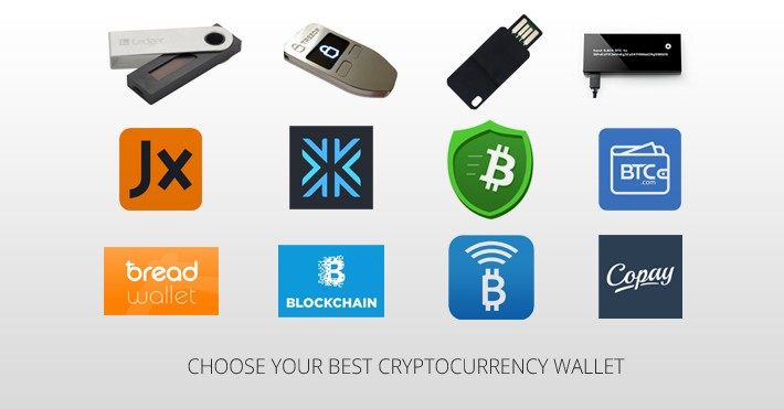 Image result for cryptocurrency wallets