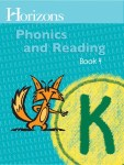 Horizons Kindergarten Phonics & Reading Student Book 4 from Alpha Omega Publications