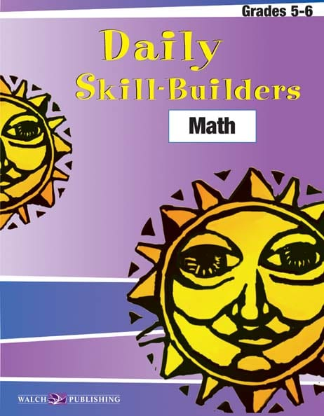 Daily Skill-Builders Math Grades 5-6 from Walch Publishing
